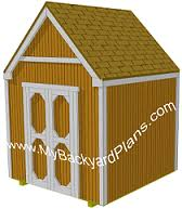 how to build a gable storage shed pictures and step by step