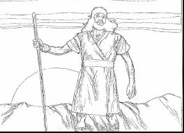 Brilliant Bible John The Baptist Coloring Page With And Baby