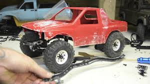 100 Amigo Truck Shortened Tamiya Bruiser Isuzu Scale Custom Crawler YouTube