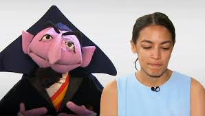 Ocasio Cortez Appears On Sesame Street To Debate Economic Plan With The Count