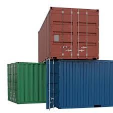 100 Shipping Container Model Cargo 3D Download Royalty Free