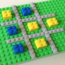 Tic Tac Toe Lego Game