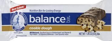 BALANCE BAR Balance Bar Original Cookie Dough 6 Bars
