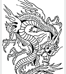 Chinese Dragon Coloring Page China Pages Head Sheets Free Printable Adult