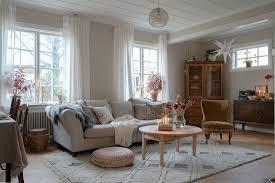 gemütliches wohnzimmer im chic bild kaufen