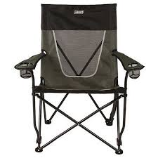 Camping Chair With Footrest Walmart by Coleman Ultimate Comfort Sling Chair Gray Walmart Com