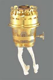 Aladdin Kerosene Lamp Model 23 by Burners