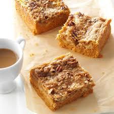 Libby Pumpkin Bread Recipe Cooks Com by Pumpkin Pie Bars Recipe Taste Of Home