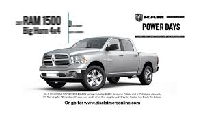 100 New Truck Deals Pickup From Ram Prairies Canada