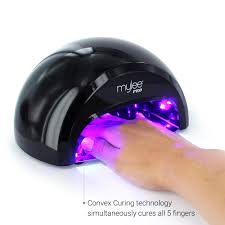 Cnd Led Lamp Australia by Mylee Pro Convex Technology Led Nail Curing Lamp Black Nails