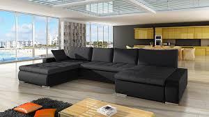 mirjan24 ecksofa caro u form eckcouch mit bettkasten und schlaffunktion polsterecke couchgarnitur farbauswahl bettsofa für wohnzimmer