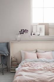 Light Pink And Grey Bedroom Inspirations Also Best Ideas About