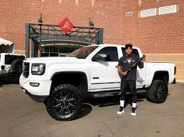 100 Used Trucks Arizona Diamondbacks Pitcher Taijuan Walker With His Custom GMC