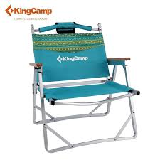 Portable Camping Outdoor Lightweight Armrest Wooden Chair ...