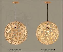 Ikea Hanging Lamp Shade Front Door DIY Modern Edison Light Fixtures Wood Pendant 13