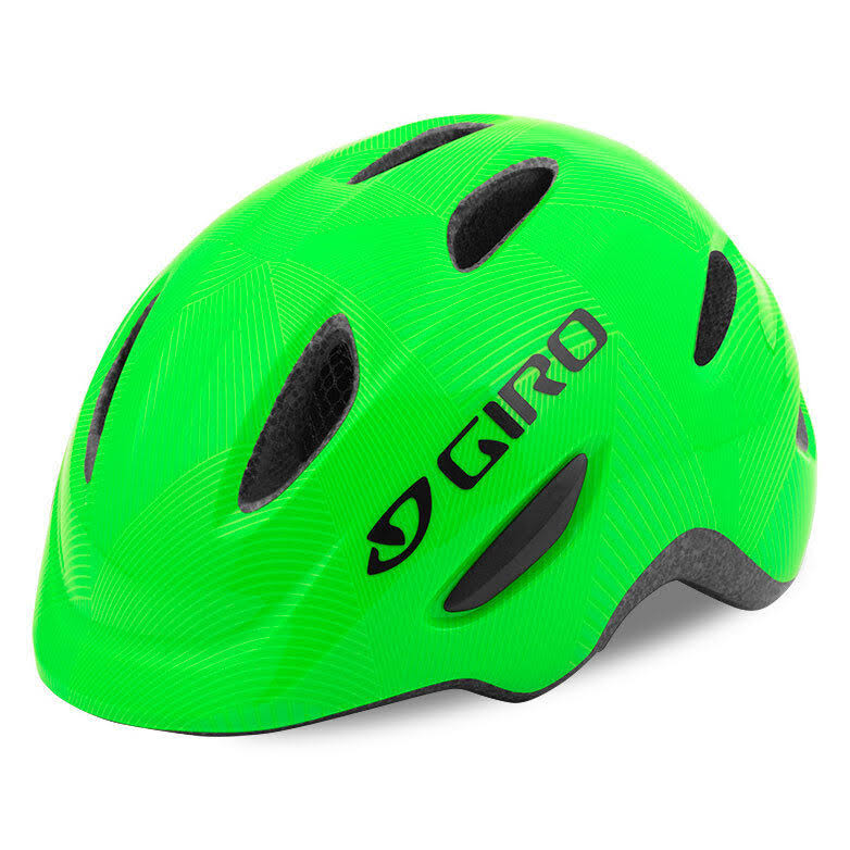 Giro 7075730 Youth Scamp 2017 Cycling Helmet - Green/Lime, X-Small