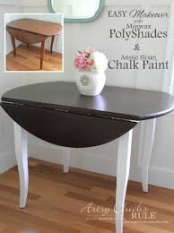 Update Wood Furniture with PolyShades & Chalk Paint Artsy Chicks