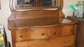 Tiger Oak Serpentine Dresser by Serpentine Dresser With Mirror Rifftube Co