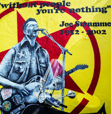 Joe Strummer Mural Portobello Road by Film Tosh Marshall