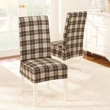 sure fit cotton duck dining chair slipcover better dining chair