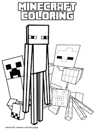 Minecraft Creeper Coloring Page Pages Graphic Gallery Printable For Mutant