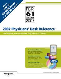 2007 Physicians Desk Reference by Physicians Desk Reference