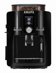 KRUPS Espresso Machine Maker Burr Grinder 60 Ounce Black