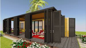 100 Shipping Container Guest House Offgrid House Design With Floor Plans