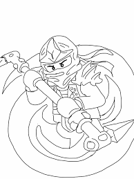 Trend Ninjago Coloring Pages Free Top