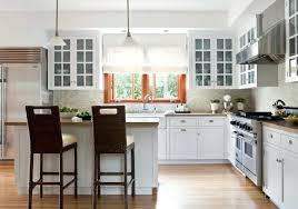 cuisine avec poteau au milieu cuisine avec poteau au milieu cuisine en l blanche de style