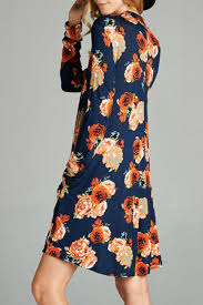 oddi casual floral dress from south carolina by apricot lane