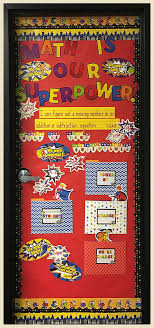 Super Power Math Door Decor Help Your Students Develop A Love For With Our