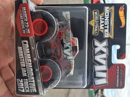 100 Monster Truck World Finals Hot Wheels Jam Commemorative XVIII 2017 Model S HobbyDB