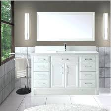 60 inch bathroom vanity with makeup table double sink top