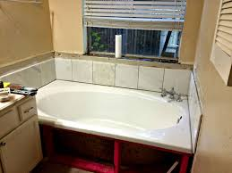 Tiling A Bathtub Skirt by Back To The Tub Decorator Dust