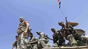 siege army syria army breaks isil siege of deir al zour