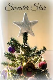 How To Make A Sweater Star Xmas Tree Topper