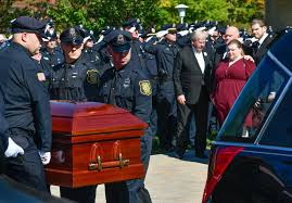 Services honor the life of Boxford and Middleton Police ficer