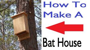 how to build a bat house youtube