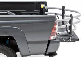 amp research moto x tender hd motorcycle truck bed extender