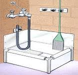 Floor Mounted Mop Sink Dimensions by Inexpensive Mop Sink Terry Love Plumbing U0026 Remodel Diy