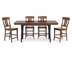 The District 5 Pc Counter Height Dining Room Set