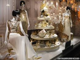 Retail Window Display Ideas For Christmas Beauty Salon