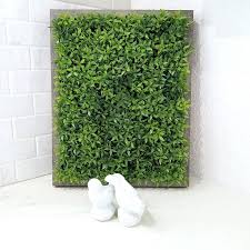 Fake Plants For The Bathroom by Wall Ideas Green Wall Decor Ideas Mint Color Bathroom Decor Lime