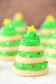 Kinds Of Christmas Trees by Christmas Tree Cookie Stacks Recipe Christmas Tree Cookies