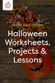Halloween Brain Teasers Worksheets by 106 Best Halloween Teaching Ideas Images On Pinterest Teaching