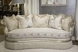 Michael Amini Living Room Sets by Bedding Likable Michael Amini Giselle Sofa Platinum Finish Fs