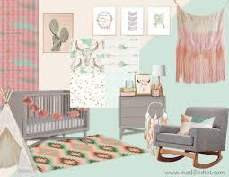 Arrow Crib Bedding by Boho Nursery Decor Bohemian Nursery Bedding Bohemian Nursery
