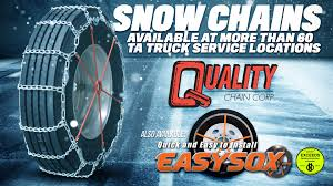 100 Truck Accessories Spokane Snow Chains TravelCenters Of America