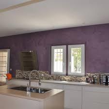 cuisine mur framboise cuisine blanche mur framboise affordable gamme de peinture avec un
